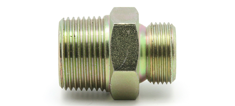 Adaptor Metric Male and Male NPT