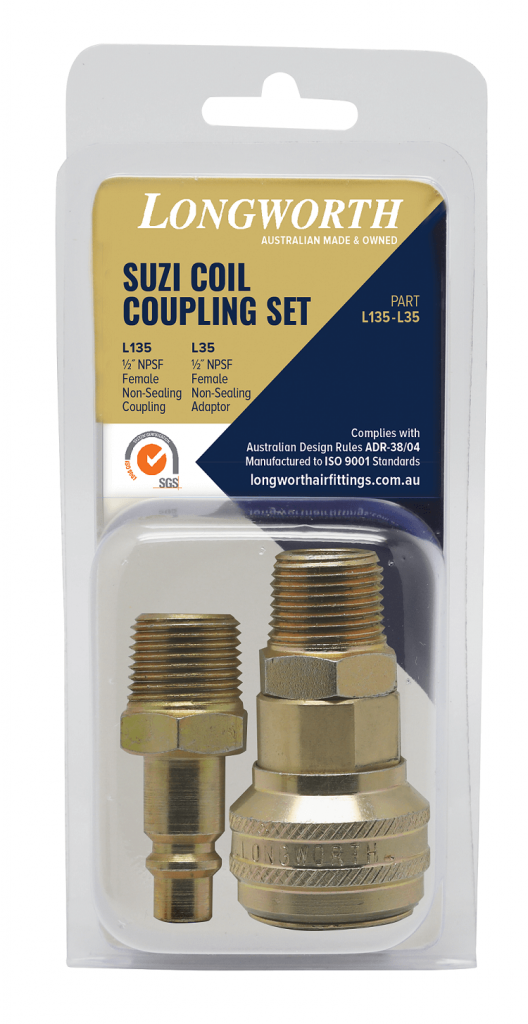 Suzi Coil Coupling Set
